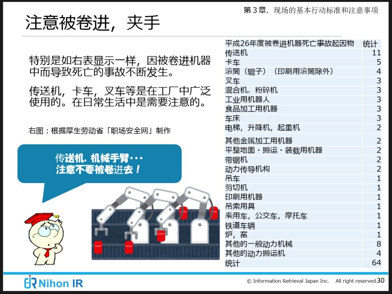 中国人技術者と工場の安全