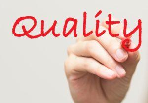 品質を保つ