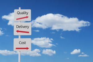QCD(品質、価格、納期)