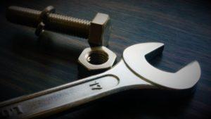 機械の分解工具
