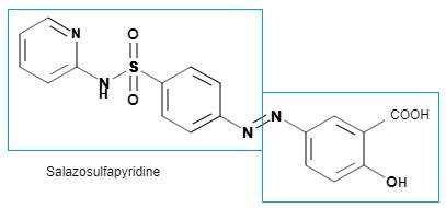 Salazosulfapyridine