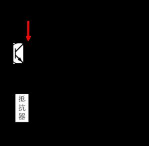 フォトトランジスタ信号電圧変換回路例