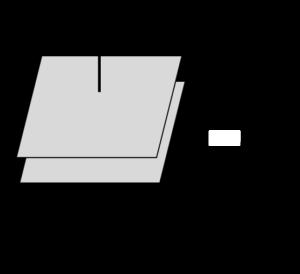 平行平板型コンデンサ