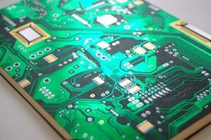 Electronic circuit for mechanical devices