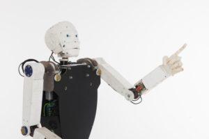 自動運転をサポートするロボット