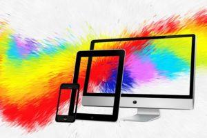 エレクトロクロミズムの色変化と応用例