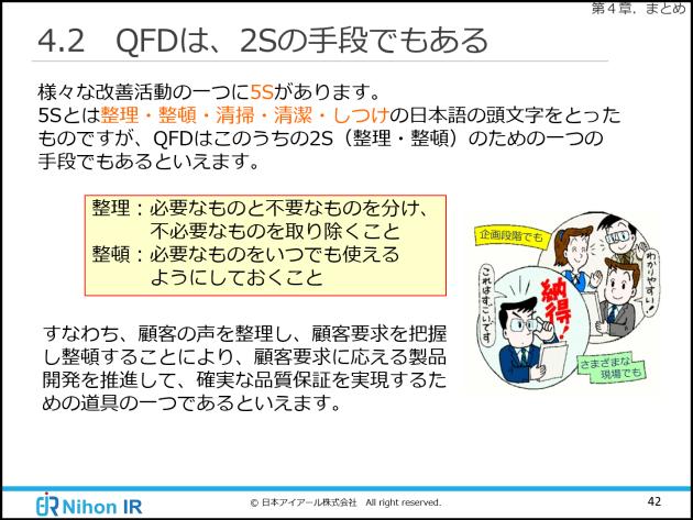 QFDが2Sにつながる