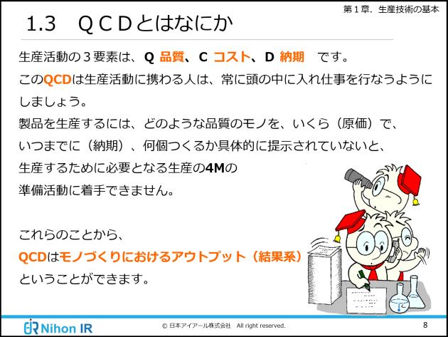 QCDとは?