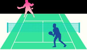 テニスのウィンブルドン大会
