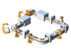 工場の製造ラインと生産方式の基本