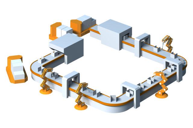 製造ラインと生産方式の基本を学ぶ