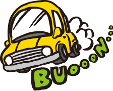 自動車の排気音対策