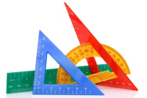 狭い箇所の寸法数字表示方法
