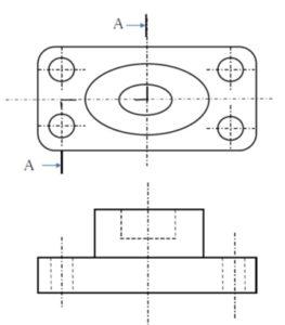 断面の表し方第二の問題