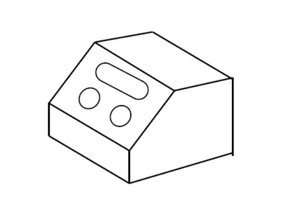 補助投影図の描き方と使い方を学ぶ・練習問題