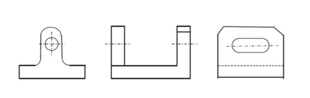 部分投影図を活用した分かりやすい図面