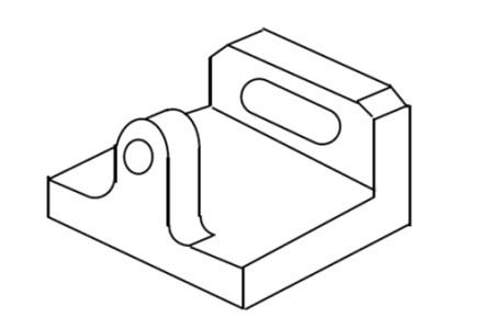 部分投影図の製図