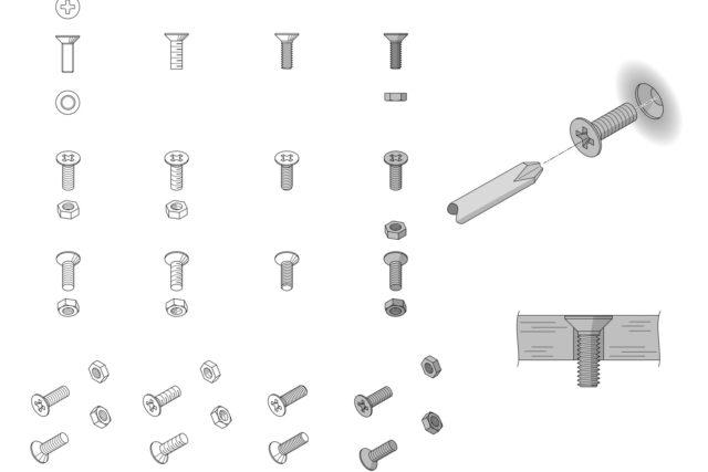 【機械製図道場・初級編】「ねじ」の表示方法、基本はこれでOK!