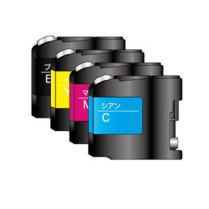 インクジェットプリンタ用のインクの種類