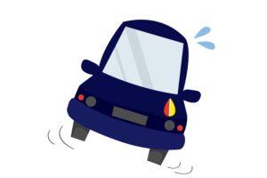 自動車走行中の姿勢制御