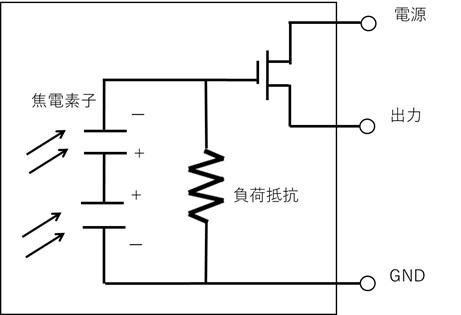 焦電素子の使い方