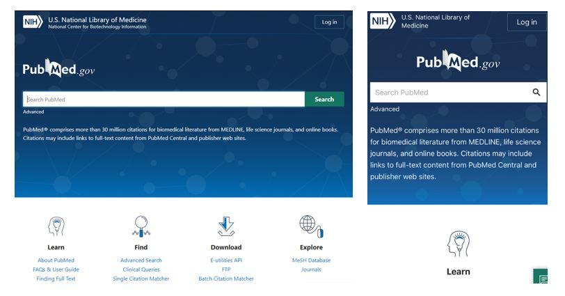 New PubMedのリリース