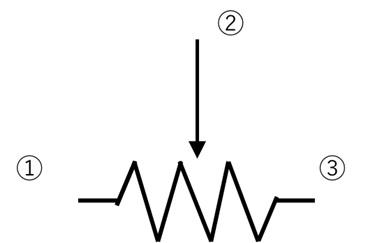 可変抵抗器の原理