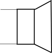 スピーカーの回路記号