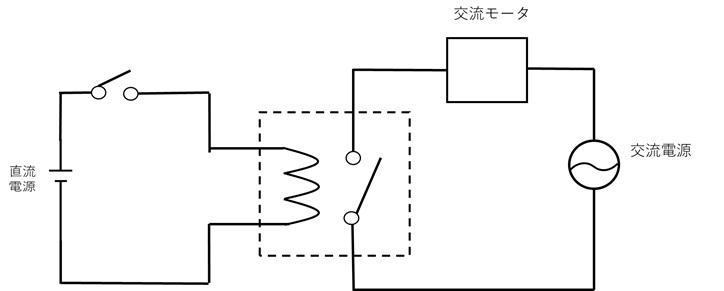 異なる種類の電気信号を伝達する