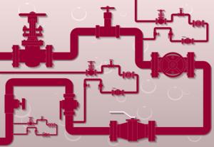 配管系統で使用されるバルブの解説