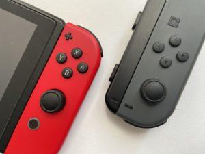 任天堂Switchとジャイロセンサ
