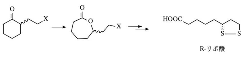 リポ酸の製造法