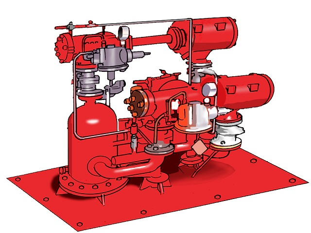 油圧システムの作動原理