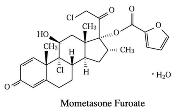 モメタゾンフランカルボン酸エステル