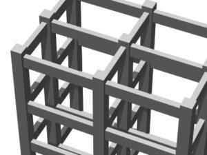 構造力学(トラスとラーメンの解説)