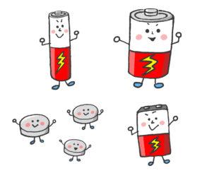 電池の原理と種類