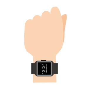 カウンタ回路の仕様例(腕時計)
