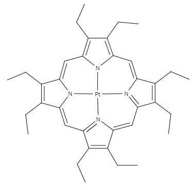 オクタエチルポルフィリナト白金錯体と
