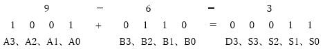減算器(9-6の例)