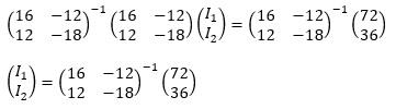 閉路電流法と2×2行列-3