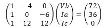 節点電圧法と3×3行列-4