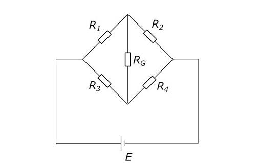 【電気数学をシンプルに】電気回路の解析⑤ 3×3行列を用いた行列法[ホイートストンブリッジの例]
