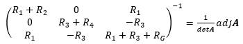 逆行列の計算2